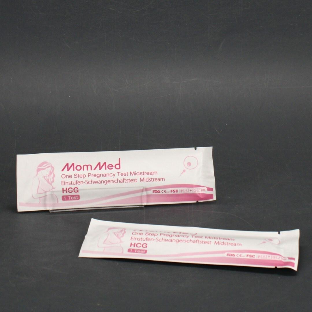 Sada těhotenských testů MomMed HCG