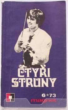 Kniha Jiří Margolius: Čtyři struny