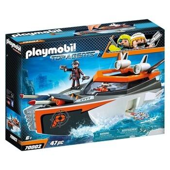 Stavebnice Playmobil Top Agents 70002