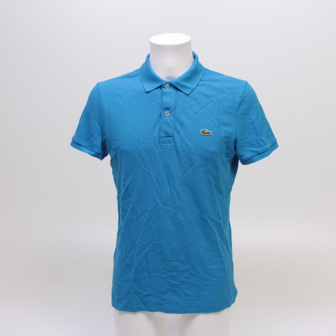Pánské modré tričko Lacoste PH4012