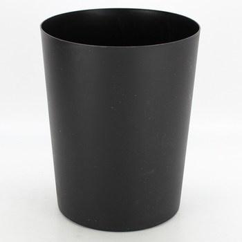 Odpadkový koš Kela černé barvy 5 l