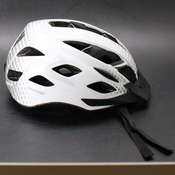 Cyklistická helma Fischer bílá