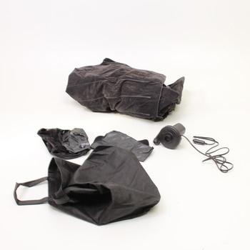 Černá nafukovací matrace do auta Vinteky