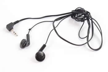 Sluchátka do uší Panasonic černá