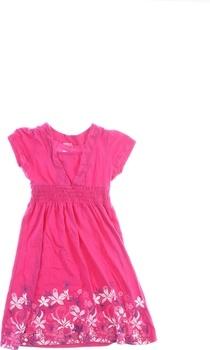 Dětské šaty se zdobením Okay růžové