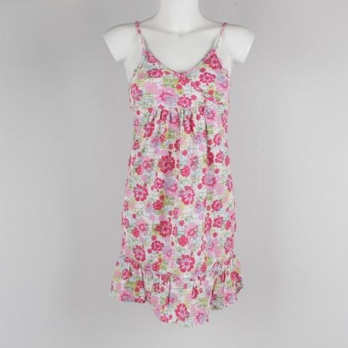 Dívčí šaty Pepperts s květinovým motivem - bazar  7108a705be