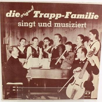 LP deska Die Original Trapp-Familie