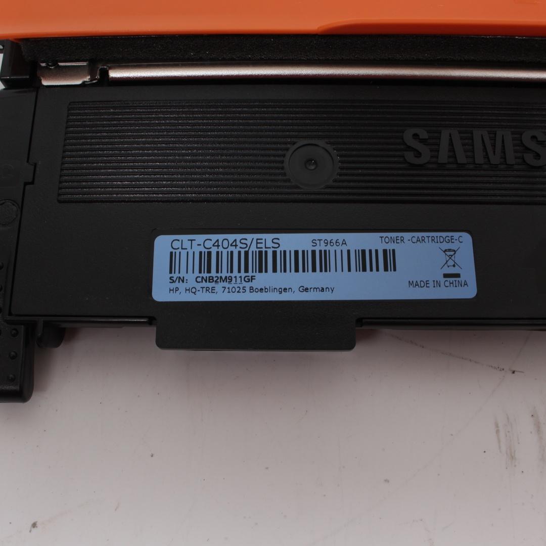 Tonerová kazeta Samsung CLT-C404S cyan