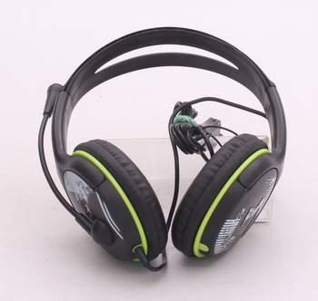 Náhlavní sluchátka Genius HS-400A zelená