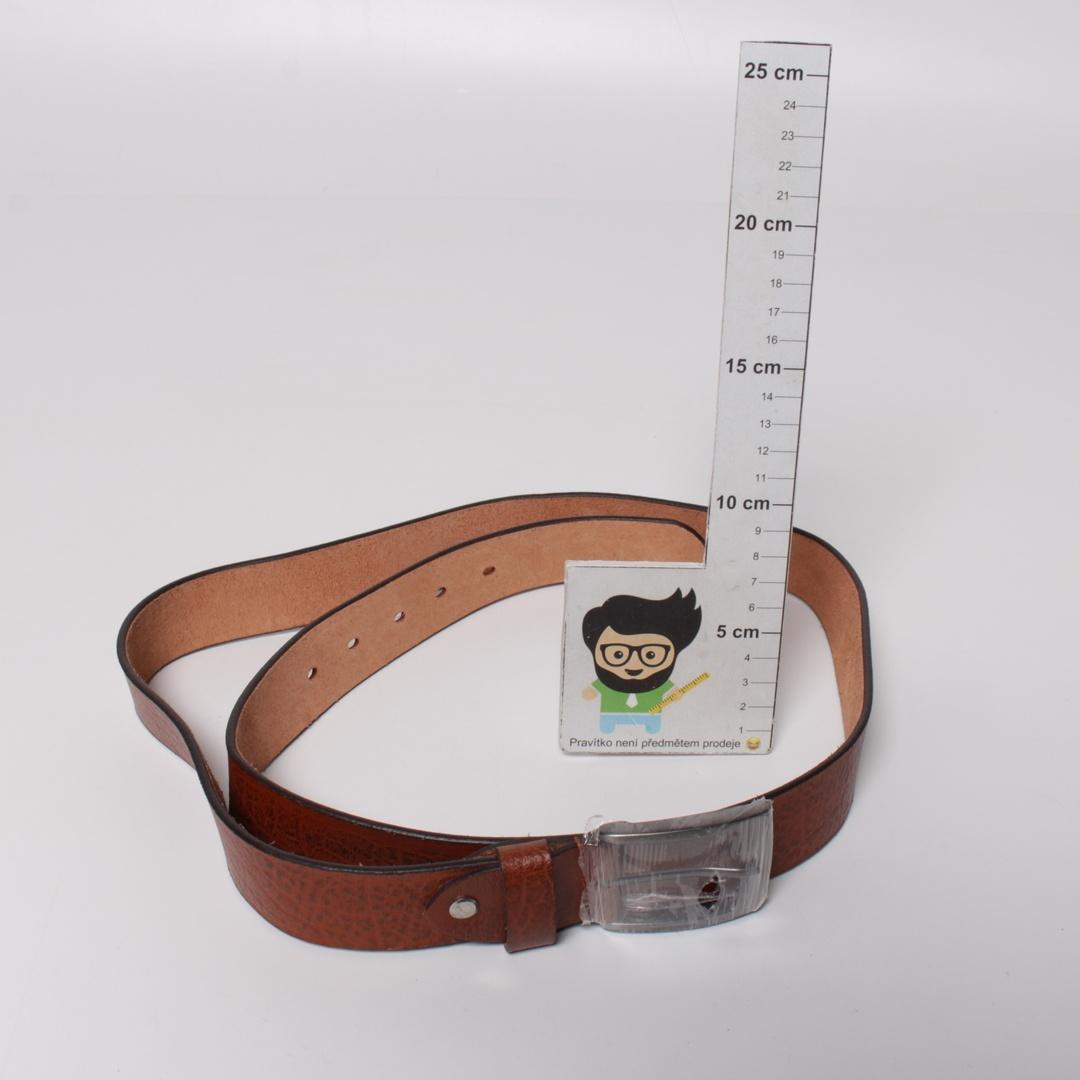 Pánský pásek Leonardo Verelli hnědý 110