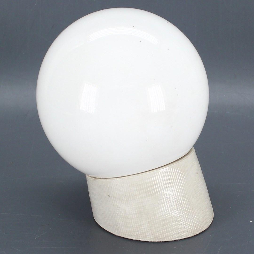Nástěnné svítidlo koule bílá
