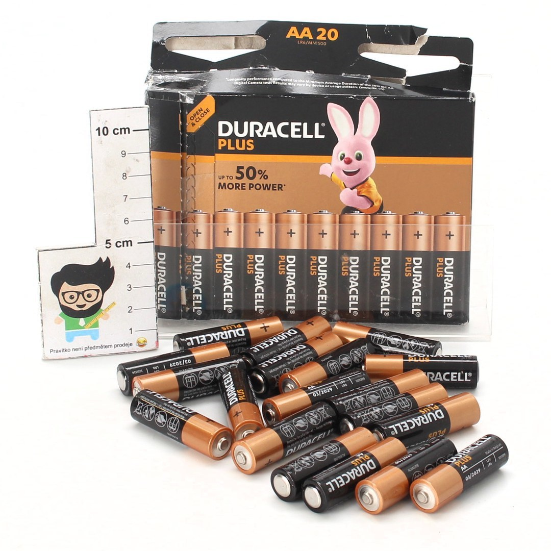 Baterie Duracell AA20 Plus