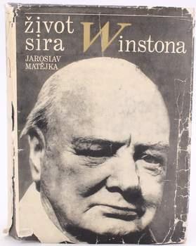 Kniha Jaroslav Matějka: Život sira Winstona