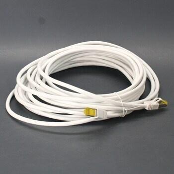 Ethernetový kabel bílý 3,5 m