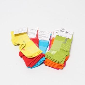 Sada ponožek Rainbow Socks 6 párů