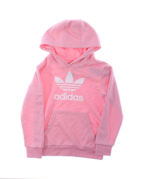 Dívčí mikina Adidas růžovo bílá
