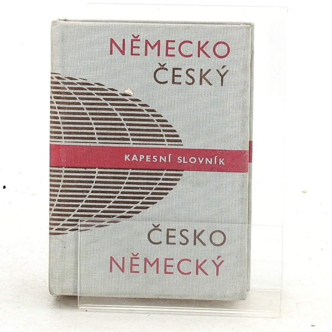 Německo Český kapesní slovník