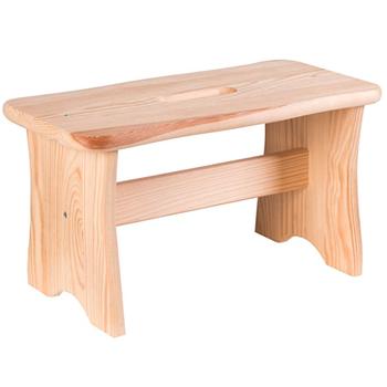Dřevěná stolička Axentia Home