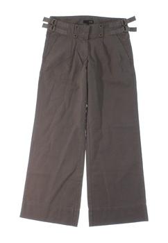 Dámské plátěné kalhoty Next hnědé