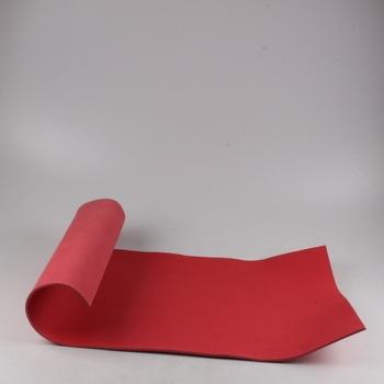 Karimatka pěnová červená krátká