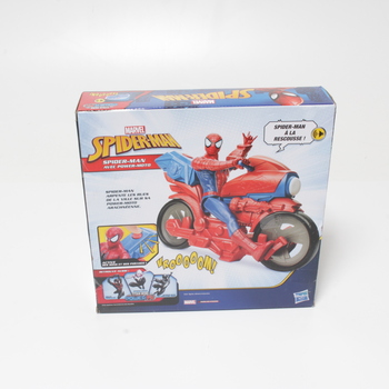 Spiderman s motorkou Marvel Titan hero
