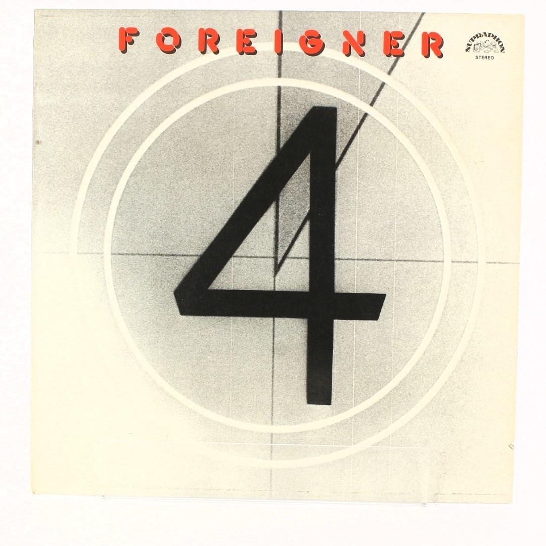 Gramofonová deska- Foreigner 4