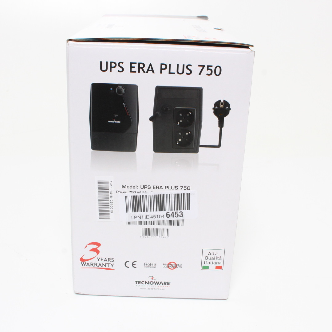 Záložní zdroj Tecnoware UPS ERA PLUS 750