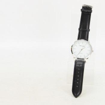 Elegantní hodinky Dunlop bílo stříbrné