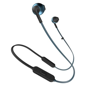 Bezdrátová sluchátka JBL T205BT modrá