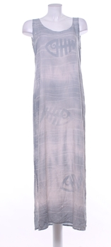 d7666a157d7 Dámské šaty Krab s rybou šedé