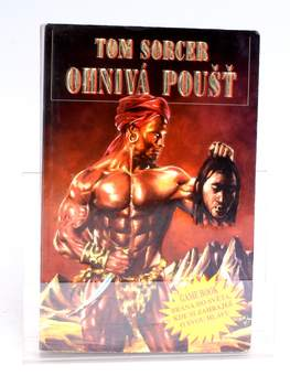 Kniha Ohnivá poušť Tom Sorcer