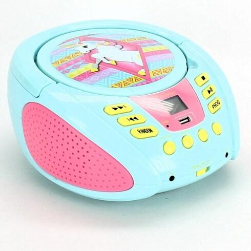 Rádio s CD přehrávačem Lexibook RCD108