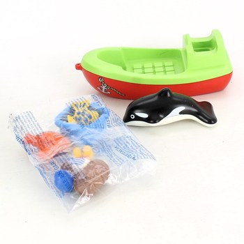 Hračka Playmobil rybářská loďka 70183