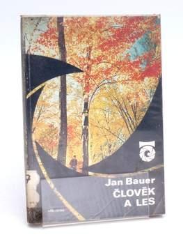 Kniha Albatros Člověk a les Jan Bauer