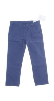 Dětské plátěné kalhoty Geox modré