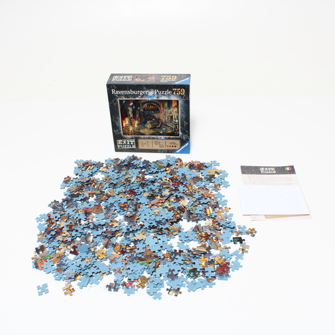 Exit puzzle Ravensburger Upírův Hrad