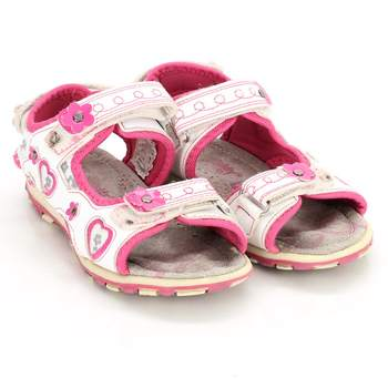 8e53633e68be Dívčí sandálky Teddy shoes bílorůžové