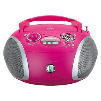 Radiopřijímač s CD Grundig GRB 2000 růžový