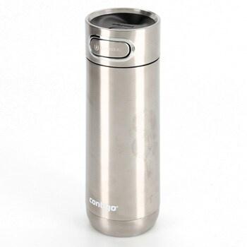 Termohrnek Contigo Luxe stříbrný