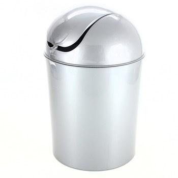 Odpadkový koš Wenko Swing Bin šedý 6L