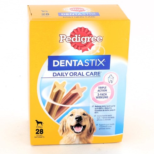 Snack Pedigree Dentastix 25 kg+ 28 ks