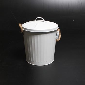 Odpadkový koš Wenko 23703100 bílý