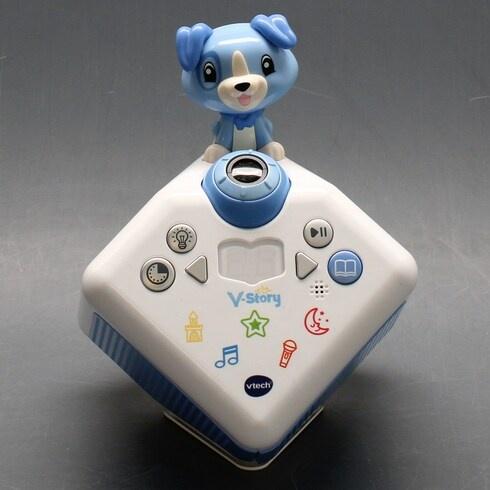 Dětský hudební projektor Vtech V-Story modrý