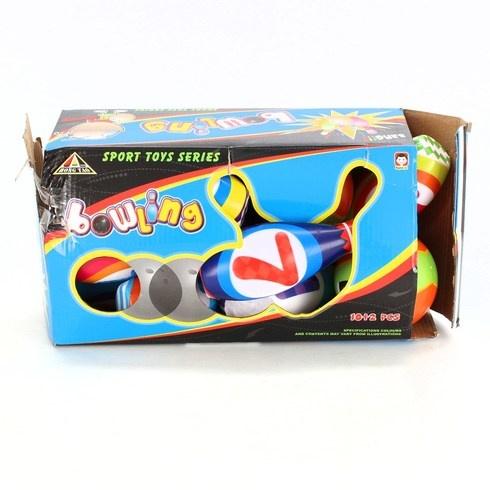 Bowling set Yimore 199F 10 kuželek+2 míče