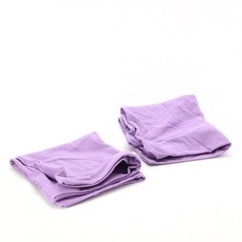 Povlaky na polštáře Biberna 2 ks fialové