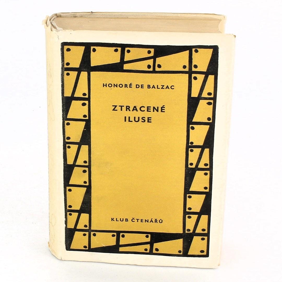 Kniha Honoré de Balzac: Ztracené iluse