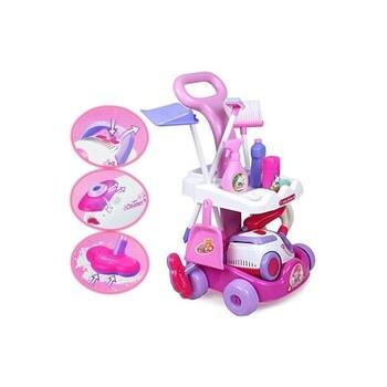 Úklidový vozík s vysavačem deAO Toys PHLC