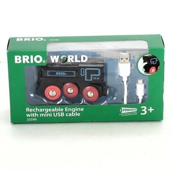 Lokomotiva na baterii Brio 33599