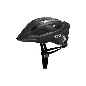 Cyklistická černo šedá helma Abus Aduro 2.0