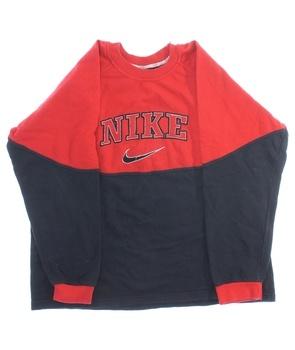 Chlapecká mikina Nike černo červená